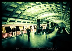In a Station of the Metro by novelhill