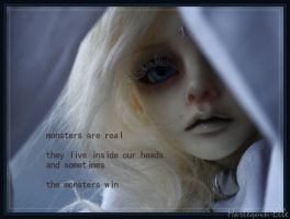 Monsters Are Real by Harlequin-Elle