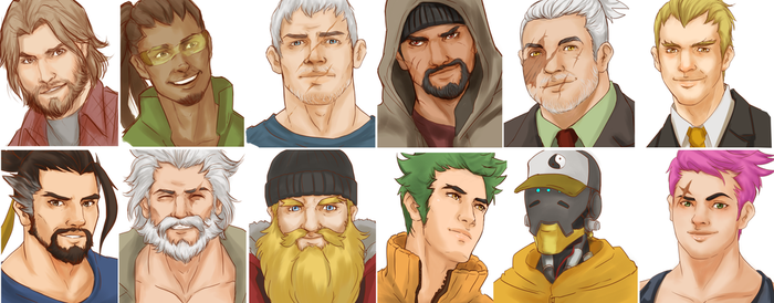 Men of Overwatch by Ricurd