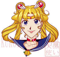 Bust of Sailormoon OrgVer by kuroitenshi13