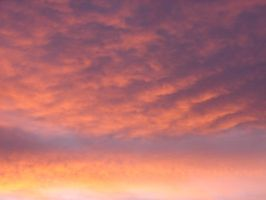 Sunset Twilight Clouds Sky 05 by FantasyStock