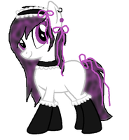 SamithaMs Maid Pony ^^ by JewelThePonyLover12
