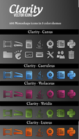 Clarity Vector Icons by jcubic