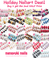 Holiday Nailart Deal: Buy 1 get the 2nd HALF Price by Nanayuki