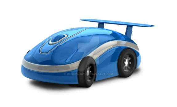 Mouse Car for World Link Communications Nepal by rforrajat