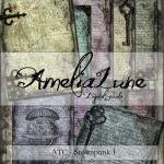 Steampunk ATC ACEO by AmeliaLune