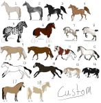 Multi-Breed Horse Adoptables - OPEN by chihuahua4446