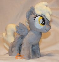 Filly Derpy V3 Glow-in-the-Dark by kiashone