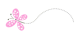 Cute Pink Butterfly PNG by HanaBell1