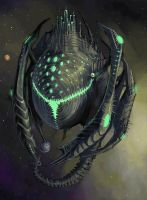 Nuclear Planet Eater by Lizzy-John
