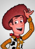 Woody - Toy Story by lucasgms