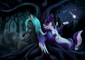 Stargazing by NorthPaws