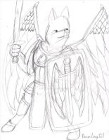 Winged Paladin by remanlongtail