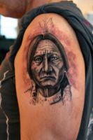 Sitting bull by Nis-Staack