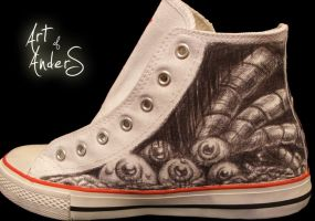 First Shoe Art2 by Anderstattoo