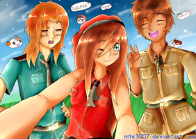 .::Hetalia::. Spanish Selfie by Nite3007