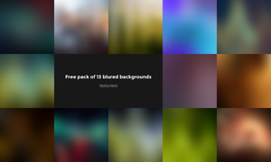 13 Blured Backgrounds FREE by Dr-Vark