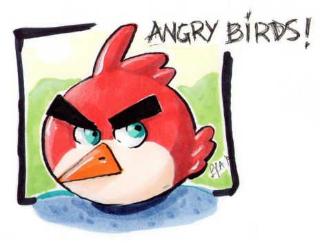 Angry is red! by RpAdame