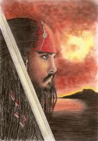 Jack Sparrow by lamorghana
