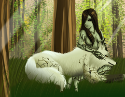 Lady of the Forest by dreamerswork