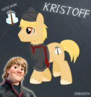 Kristoff Pony From Frozen by Doragoon