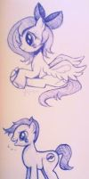 Ponies by GUTS-and-GLUCOSE