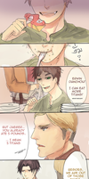 [Comic] Eren and Cakes by rainbuni