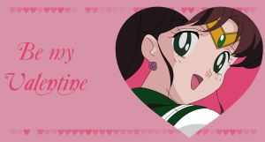 Be my Valentine - Sailor Jupiter by Mikey186