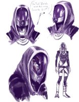 Tali'Zorah vas Normandy by Ma-rin