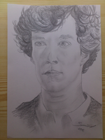 Benedict Cumberbatch/Sherlock by darksun184