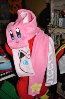 Kirby-Puff Scarves by Lexiipantz