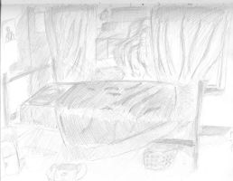 A Look into My Bedroom by AceOfKeys72