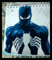 SPIDERMAN colored by Pipe182motaS