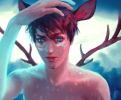 Deer boy by zephy0