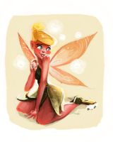 Tinkerbell Daily sketch light by Sakurabe