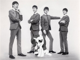 Rarity and The Beatles by Bronyman1995