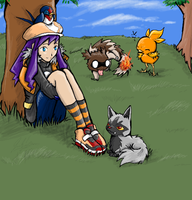 My Pokemon Team by RastaPickney-Juls