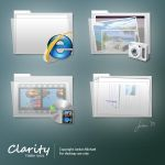 Clarity Folder Icons by jrdnG