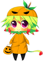 Chibigamiz's Halloween Contest by xwood-peckerx