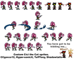 Extra Cici Sprites by Hyper-sonicX