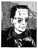 Frankenstein's Monster by Teagle