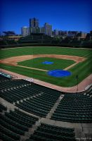 Wrigley Field 02 by PeppermintStripe
