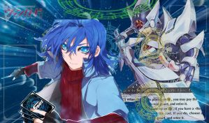 Cardfight!! Vanguard Mat - Aichi Sendou by DragonTamer256