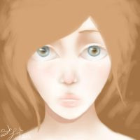 Girl Doodle by BlondieGurl1129