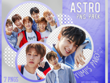 PNG PACK: ASTRO (Dream Part.1, Concept Photo #01) by Yumi-chan19