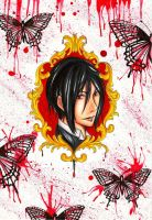 Portrait of the devil -.Black Butler. by MissSerenity02