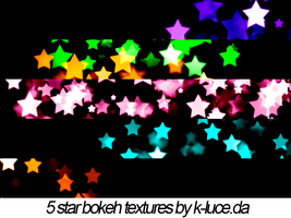 Star Bokeh Textures by k-luce