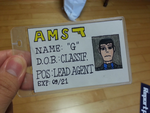 G's AMS ID Card Prop by StealthNinja5