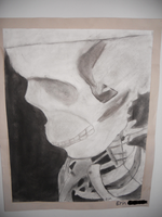 Charcoal Skeleton by LovelySilversky