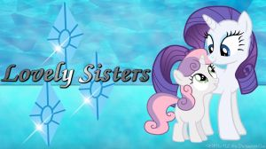 Lovely Sisters WP by FlutterDash75